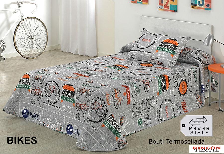 Colcha Bouti Dolz BIKES Termosellado 90 y 105 cm
